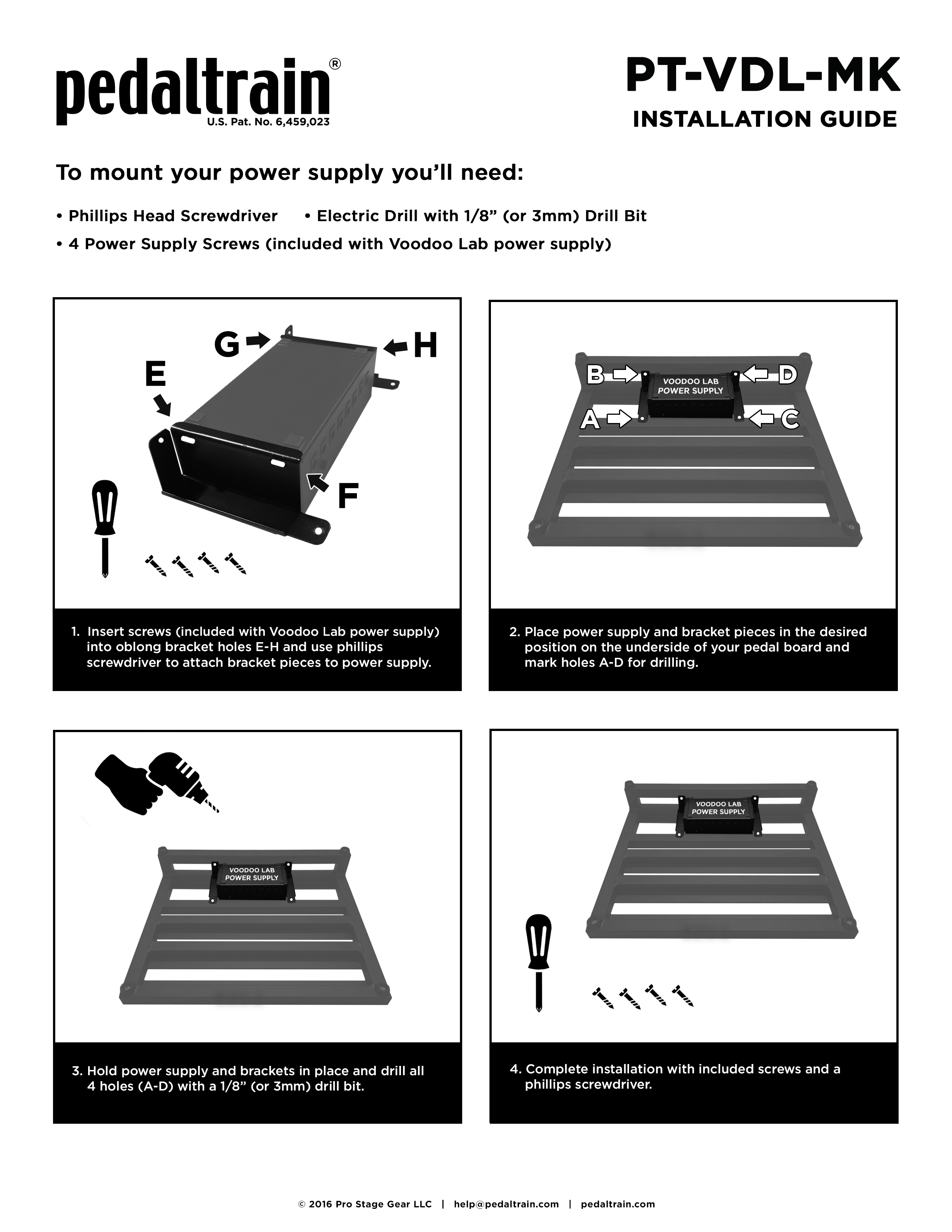 Bracket Install Video & Guides – Pedaltrain